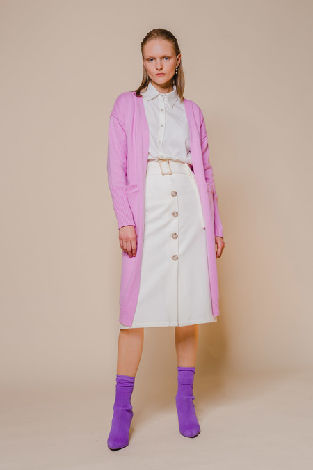 OPUSION Longline Knit Cardigan