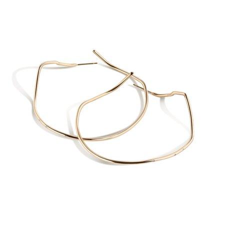 Shahla Karimi 14K Gold Subway X-Large Hoop Earrings