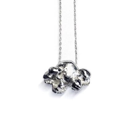 Ale Bremer Popcorn Necklace - Silver