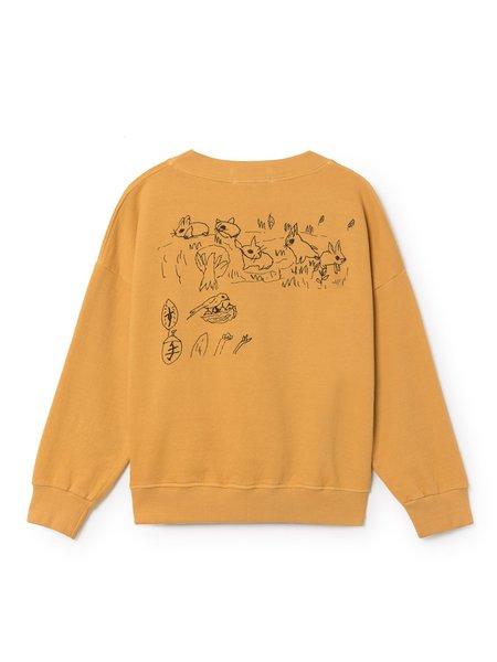 Kids Bobo Choses Winmap Sweatshirt - yellow