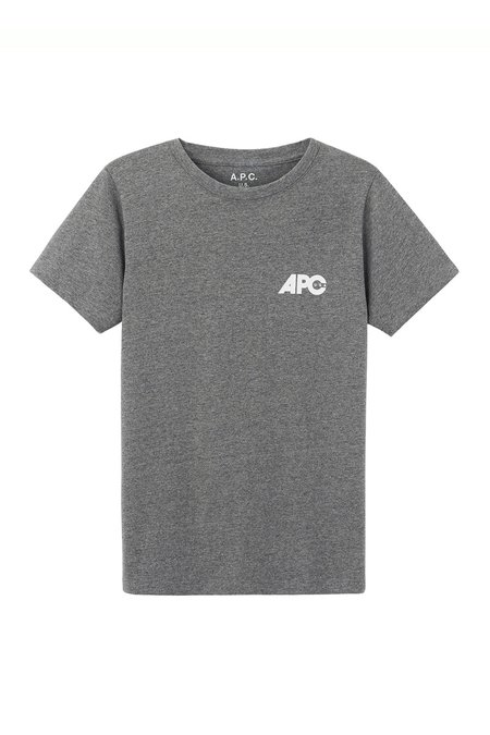 A.P.C. Molly T-Shirt - Gris Chine