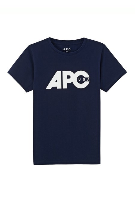 A.P.C. Sheena T-Shirt - Dark Navy