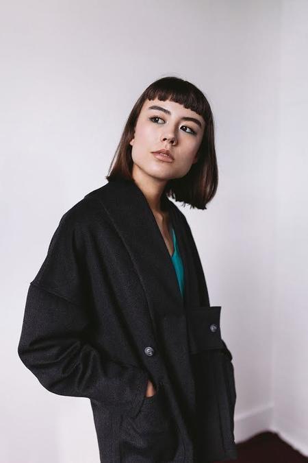 A.Oei Studio Obi Wool Jacket
