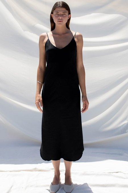 Ozma of California Slip Dress - Black