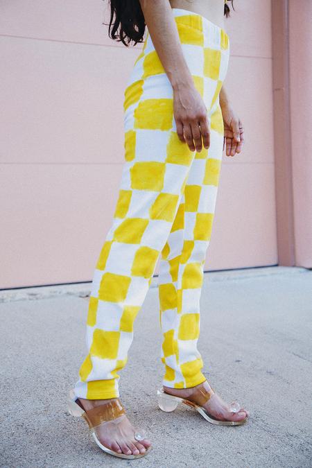 Annabell P. Lee Leggings - Citrus Yellow