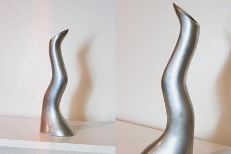 Casa Veronica Vintage Anna Efverlund Modernist Candleholder or Sculpture