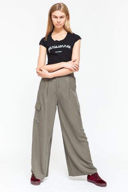 Native Youth ASTER PANT - olive