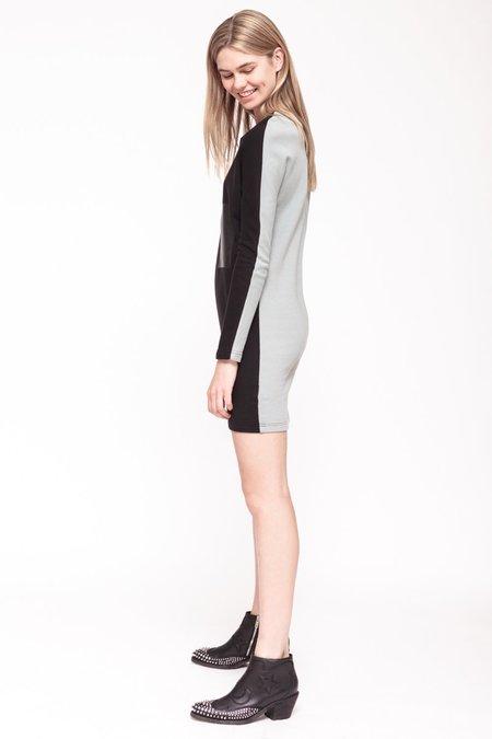 BUREAU TONIC MCLAUGHLIN DRESS - BLACK/GREY