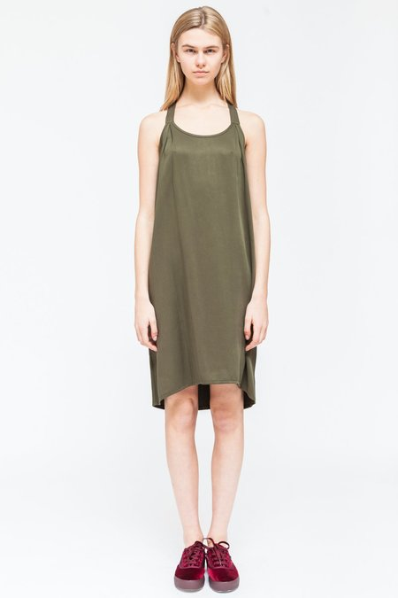 Native Youth MINERAL DRESS - olive