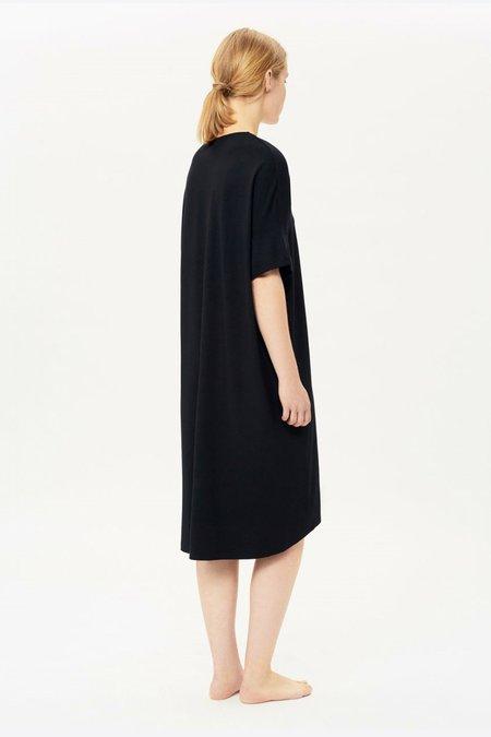 About Wear V-Neck Dress - Black