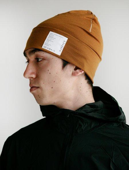 Satisfy Cloud Merino 160 Running Hat - Amber