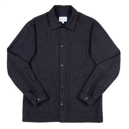 Raleigh Denim Workshop Chore Coat - Bracken Rinse