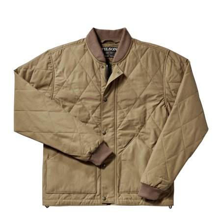 Filson Quilted Pack Jacket - Tan