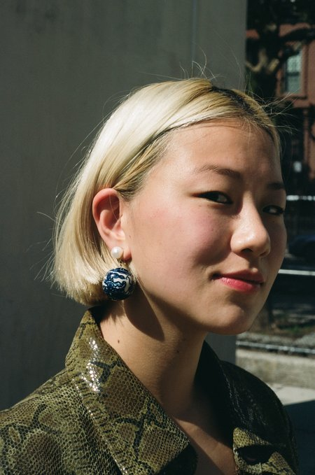 SVNR Jingdezhen Single Earring