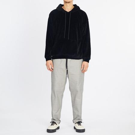 S.K. Manor Hill Velour Hoodie - Black