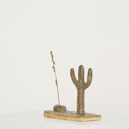 A Question of Eagles Cactus Incense Holder