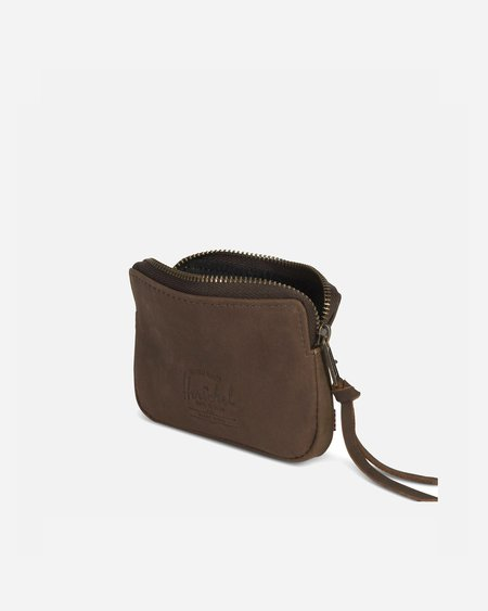 Herschel Supply Co Oxford Wallet - Nubuck Brown