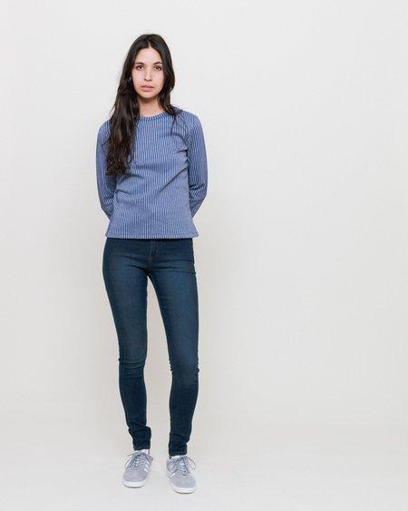 RITA ROW Pupi T-shirt - NAVY STRIPES