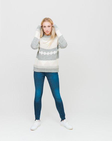 Samsoe & Samsoe Maxine Sweater - Grey Melange