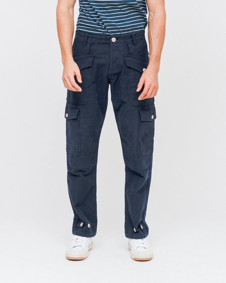 Bleu De Paname Treillis Suedois Cargo Pants - Bleu