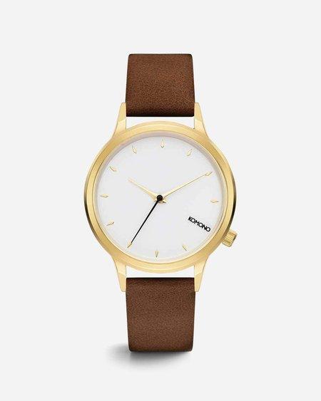 Komono Lexi Watch - Prime Cognac