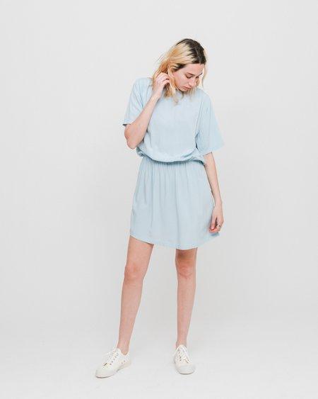 Wemoto Poetry Dress - Light Blue