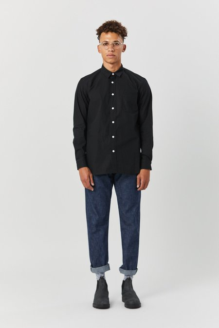House of St. Clair TYPEWRITER SHIRT - BLACK