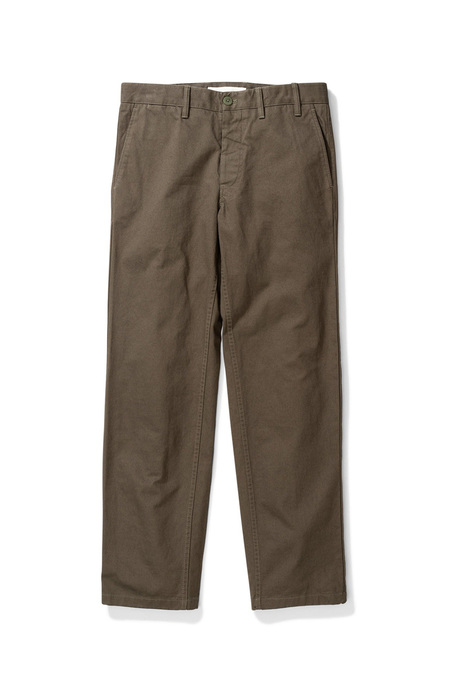 Norse Project Aros Heavy Chino Trousers - Ivy Green