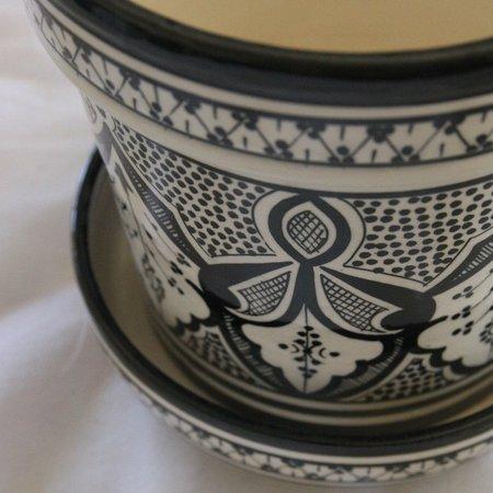 Atelier Boemia Safi Black Planter
