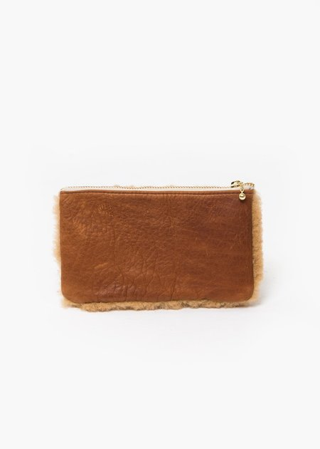 Erin Templeton Fuzzy Time For A Change Pouch - Camel