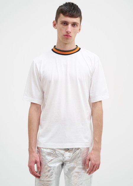 Études Signature Contrast T-Shirt - White