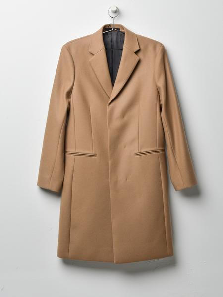 Theory MANROE COAT - CAMEL