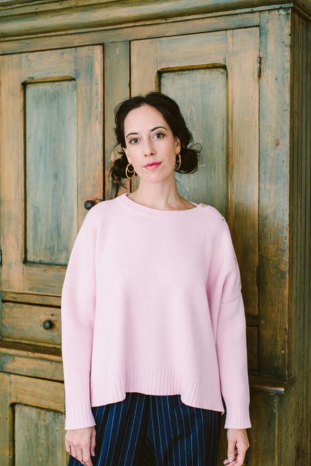 Gallego Desportes Boxy Sweater - Pink