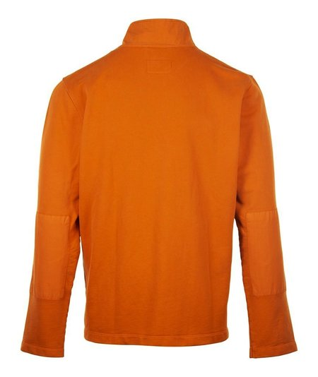 Albam Zipped Jersey Sweatshirt - Orange