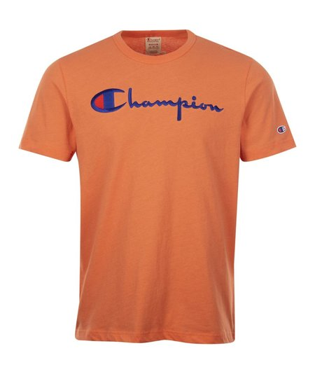 Champion Big Script T-Shirt - Peach