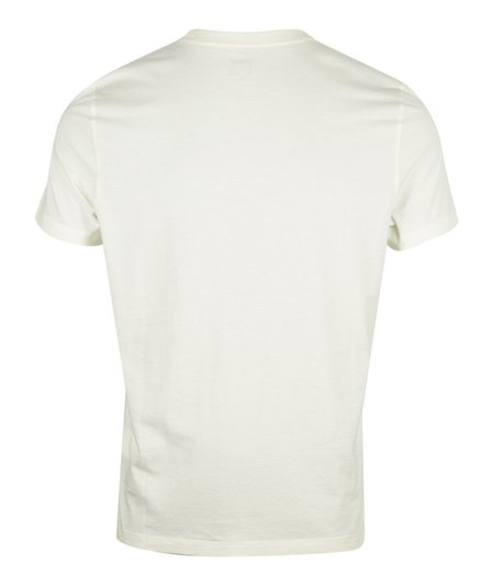 CP Company Label Printed S.Sleeve T-Shirt - Off White