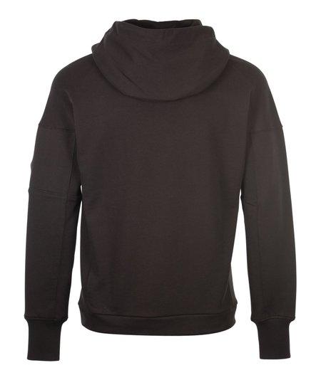 CP Company Popover Hood Sweat - Black