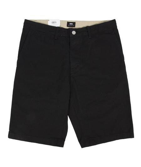 Edwin Rail Shorts - Black