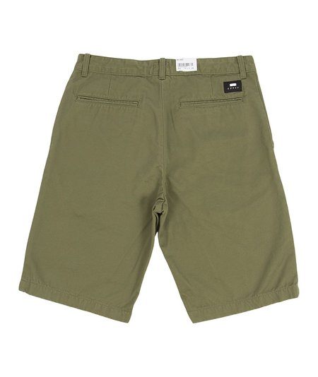 Edwin Rail Shorts - Green
