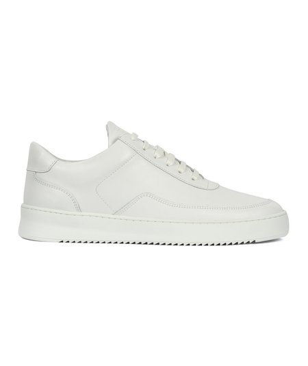 Filling Pieces Low Mondo Nappa Ripple Nardo - White