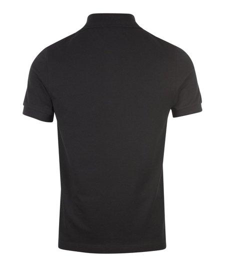 Fred Perry x Raf Simons Pocket Detail Pique Shirt - Black