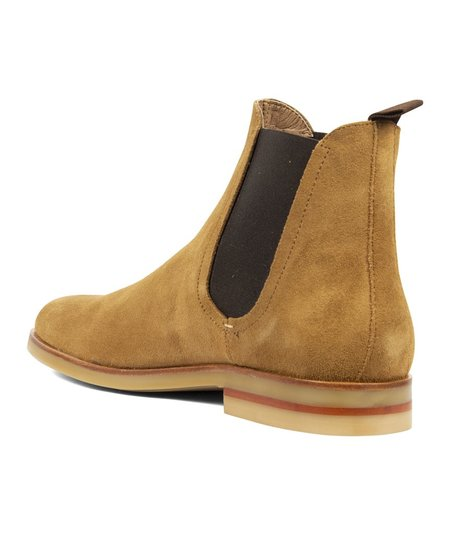 Hudson London Adlington Suede Chelsea Boot - Tan