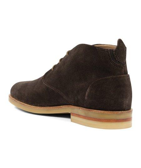 Hudson London Hudson Bedlington Suede Lace up Boot - Brown