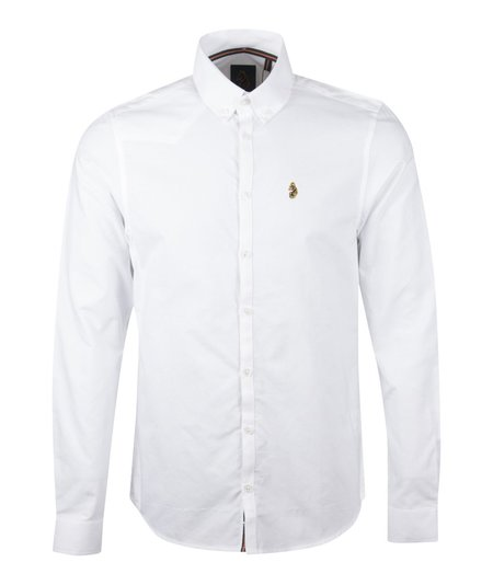 Luke 1977 Cuffys Call LS Shirt - White