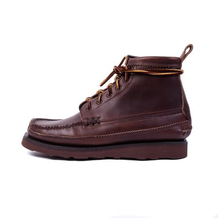 Yuketen 6 Eye Maine Guide Boot - Brown