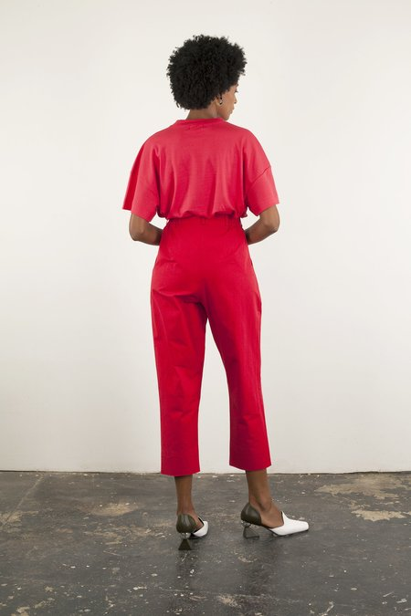Wray Fielding Pant - Red
