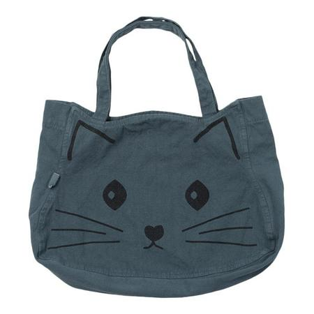 KIDS Bonton Child Cat Tote Bag - Storm Blue