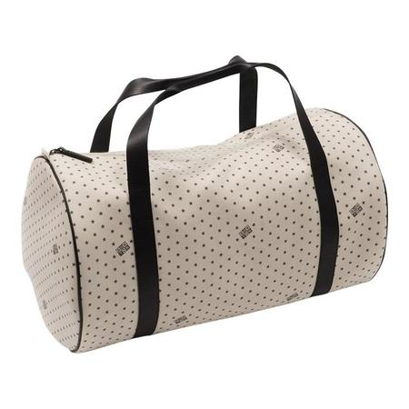 KIDS Bonton Gym Bag - White With Black Stars