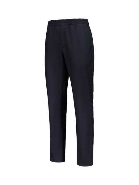 Norse Projects Luther Technical Wool Trousers - Dark Navy