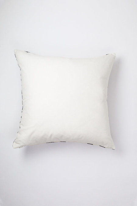Archive New York Almolonga Diamond Pillow - Black/Natural White